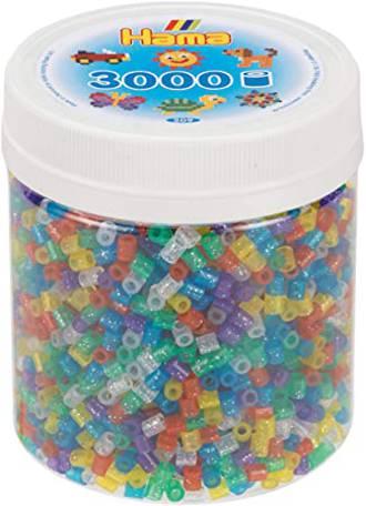 Hama Beads 3000 Glitter mix H209-54