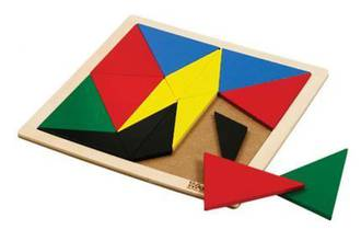Square Mosaic - Triangles Obtuse
