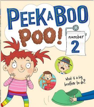 Peek A Boo Poo Number 2 by Lisa Regan