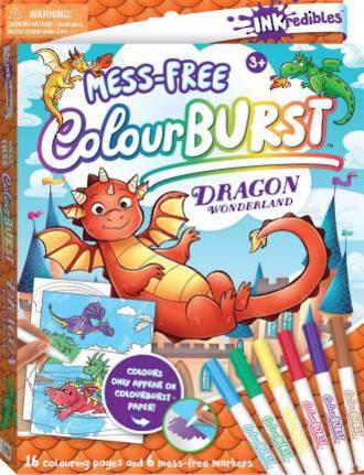 Mess free - Colour Burst Dragon Wonderland