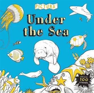 Under The Sea - Creative Colouring by Pedro Correa