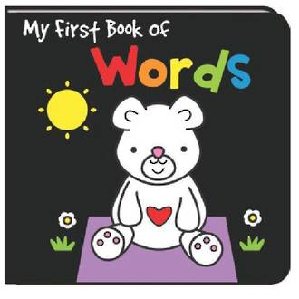 My First Book Of Words - Black And White