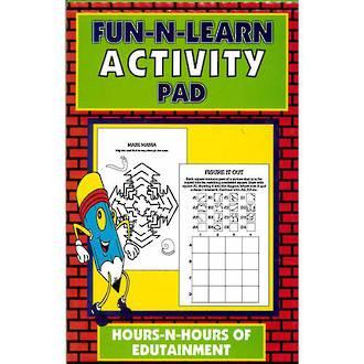 Activity Pad Red Brick
