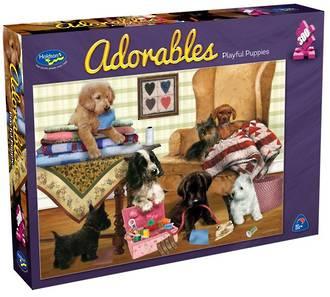 Adorables 300pc Puzzle - Playful Puppies