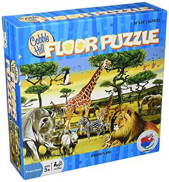 Cobble Hill  Floor Puzzle African Plains