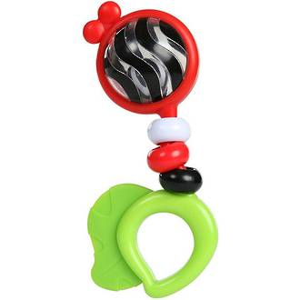 Baby Einstein Bright Bold Rattle And Teether
