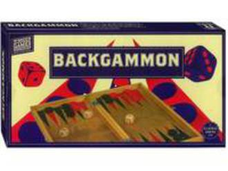 Backgammon Handcrafted Wooden Game Set