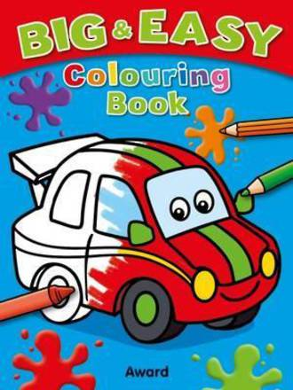 Big and Easy Colouring Book Car