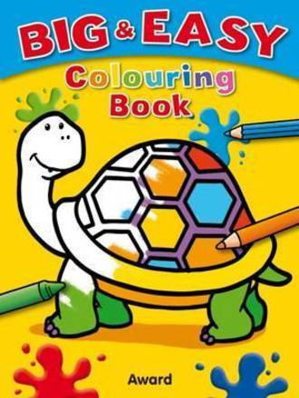 Big and Easy Colouring Book Tortoise