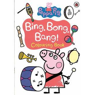 Peppa Pig Bing Bong Bang Colouring Book