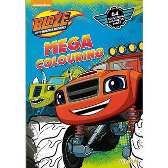Blaze Mega Colouring Book