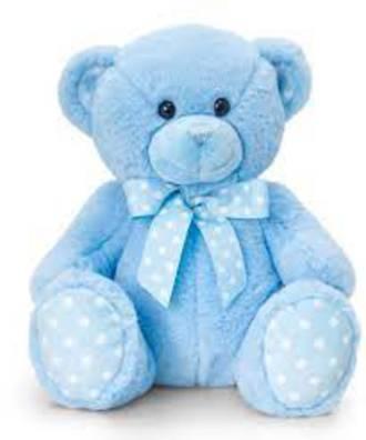 Baby Keel Spotty Bear Blue