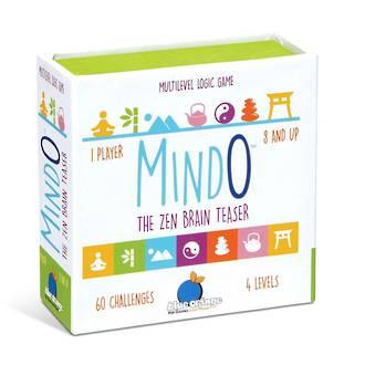 Blue Orange Mindo The Zen Brain Teaser