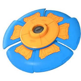 Slider Disc Orange & Blue