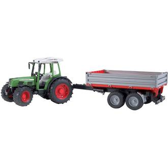Bruder Fendt 209 S Tractor with Tipping Trailer
