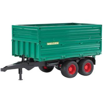 Bruder Tandemaxle tipping trailer with removeable top BR2010