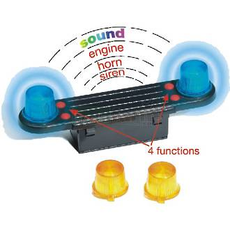 Bruder - Light and Sound Module