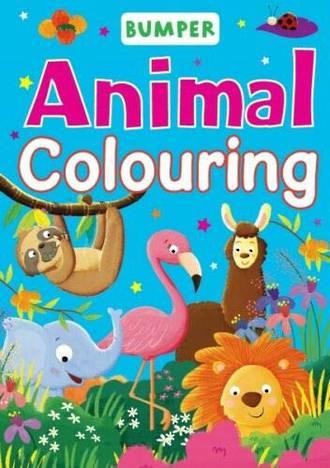 Bumper Animal Colouring
