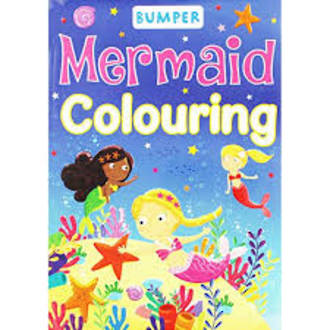 Bumper Colouring Mermaid