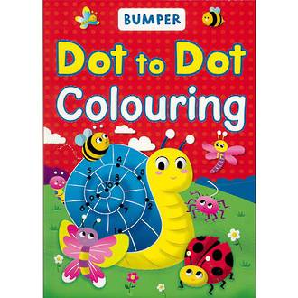 Bumper Dot to Dot Colouring