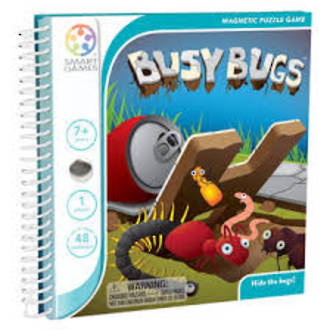 Smart Games Magnetic Travel Busy Bugs Game