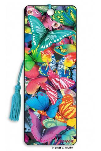 3D Bookmark - Butterfly Magic