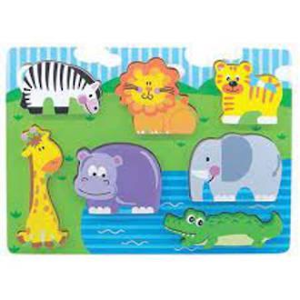 Chunky Puzzle Wild Animals