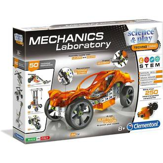 Clementoni Mechanics Laboratory: Engineering of Machines