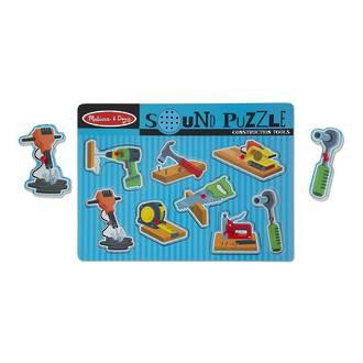 Melissa & Doug Sound Puzzle Construction Tools