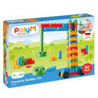 Poly M Creative Builder Building Blocks Kit