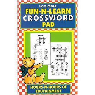 Lots More Crossword Pad