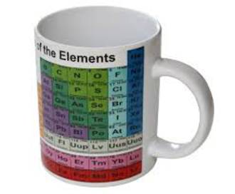 Periodic Table Of Elements Drinking Mug