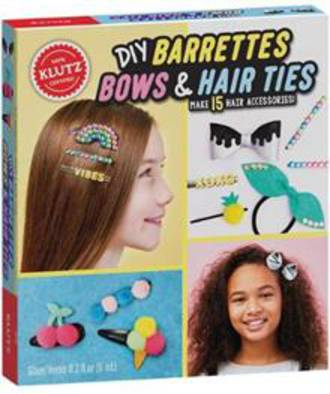 DIY Barrettes, Bows and Hair Ties