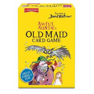 David Walliams Awful Auntie's Old Maid Card Games