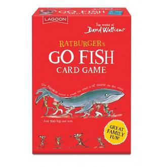 David Walliams Ratburger's Go Fish Card Games