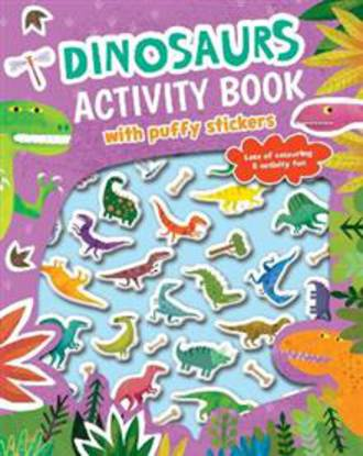 Dinosaurs Activity Book with Puffy Stickers