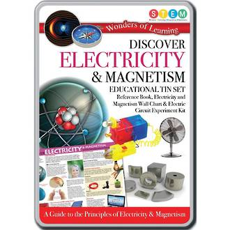 Discover Electricity and Magnetism Educational Tin Set