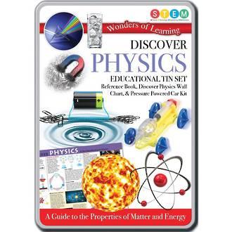 Discover Physics Educational Tin Set