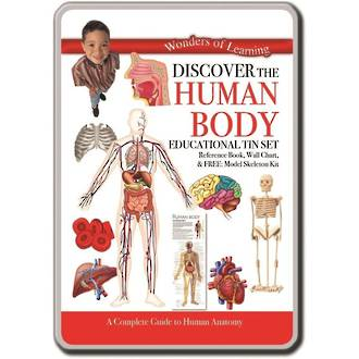 Discover The Human Body Tin Set