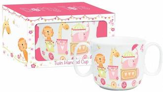 Dotty Tots Girl Ceramic Cup