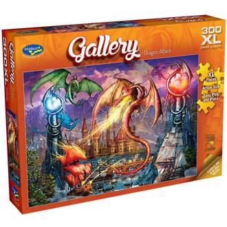 Gallery Dragon Attack 300XL Puzzle