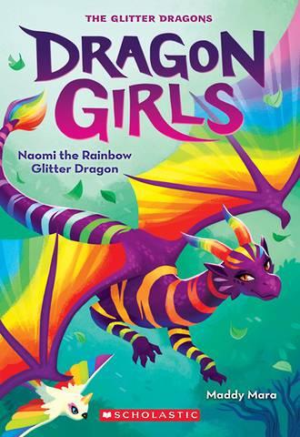 Dragon Girls #3 Naomi the Rainbow Glitter Dragon