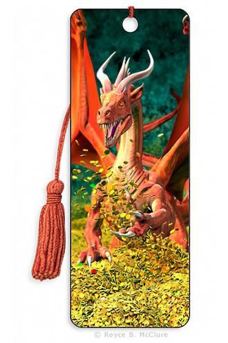 3D Bookmark - Dragon Hoard