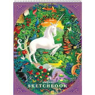 eeboo Sketch Book Unicorn