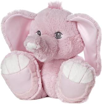 Taddles Elephant Pink
