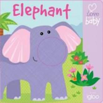 Finger Puppet Book Elephant