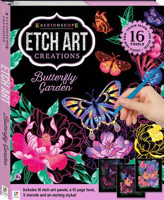 Etch Art Creations: Butterfly Garden