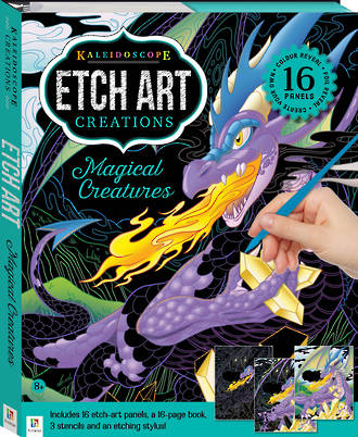 Etch Art Creations: Magical Creatures