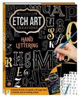 Etch Art hand Lettering