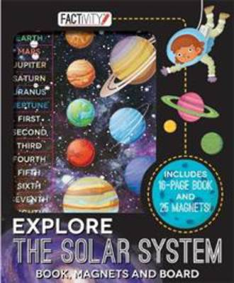 Explore the solar System Book, Magnets and Board